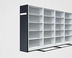 Estante para caixa arquivo