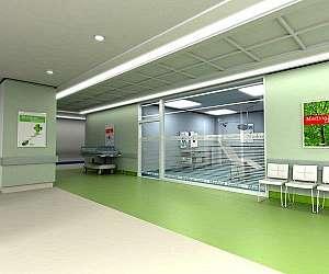 Piso para clinicas e hospitais